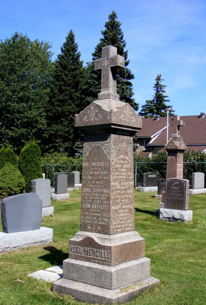 Cimetière paroisse Saint-Lambert